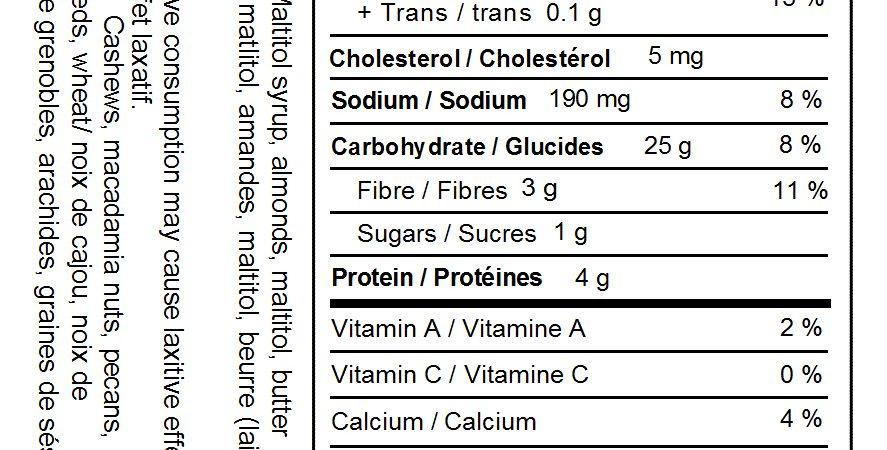 No Sugar Added Almond Brittle