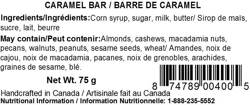 Original Caramel bar